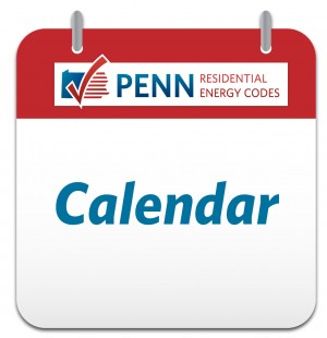 penn energy codes calendar